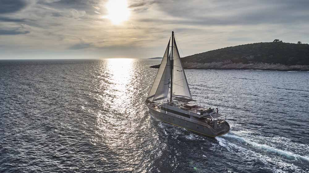 Sunset Gulet Sailing in Croatia