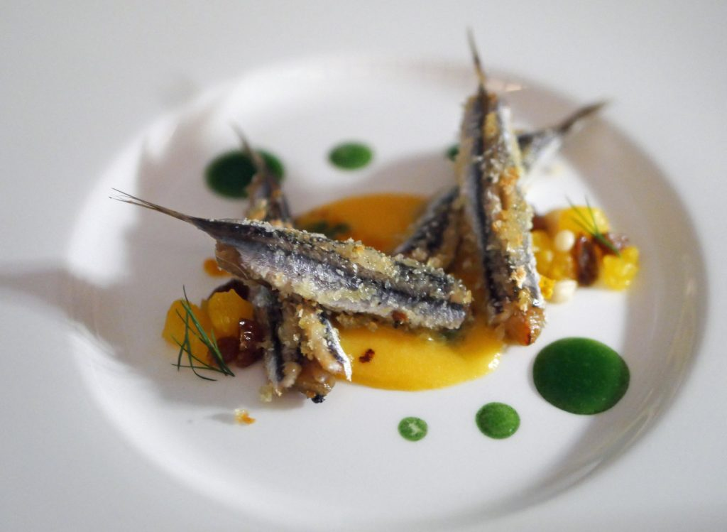 Anchovies - IT Restaurant London