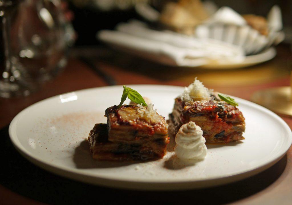 Aubergine Parmigiana - IT Restaurant Dover Street