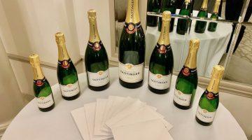 BAFTA dinner Taittinger champagne 2