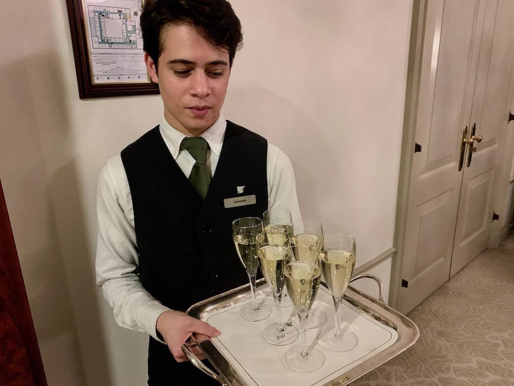 BAFTA dinner Taittinger champagne