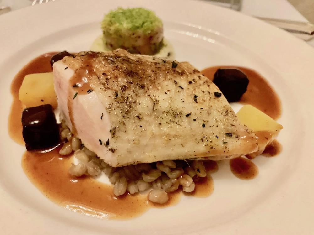 BAFTA dinner chicken