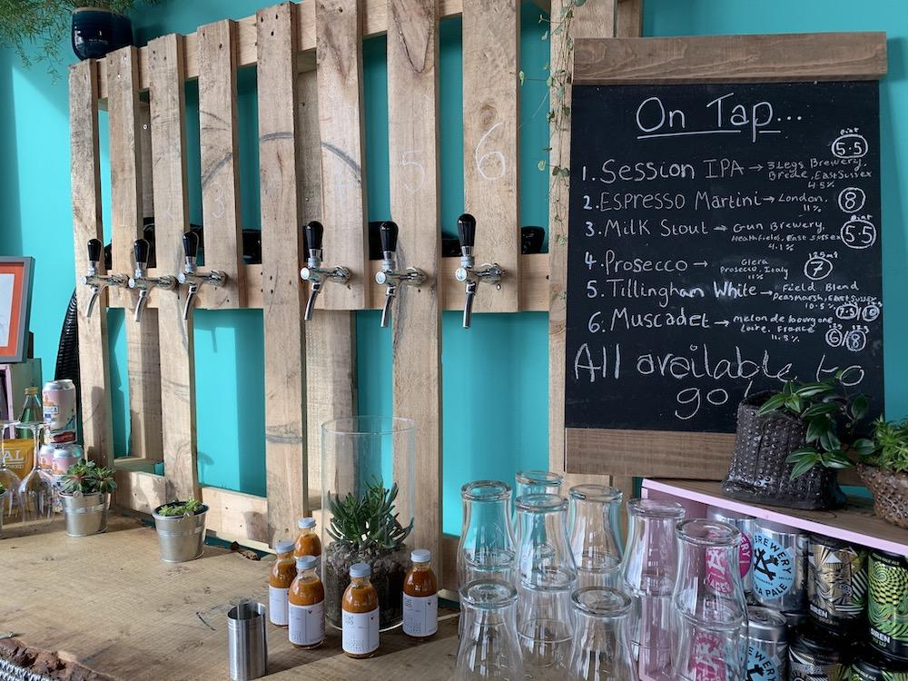 BBOATYARD WINES ON TAP