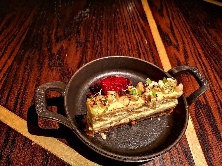 Botanist Broadgate cheesecake