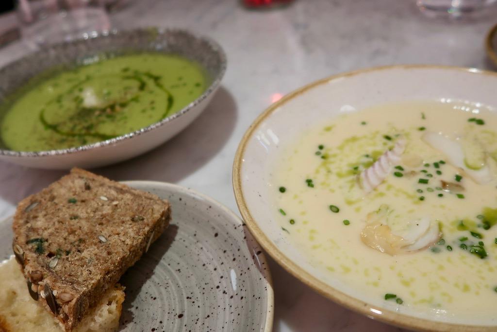Boulevard Theatre Restaurant - soup