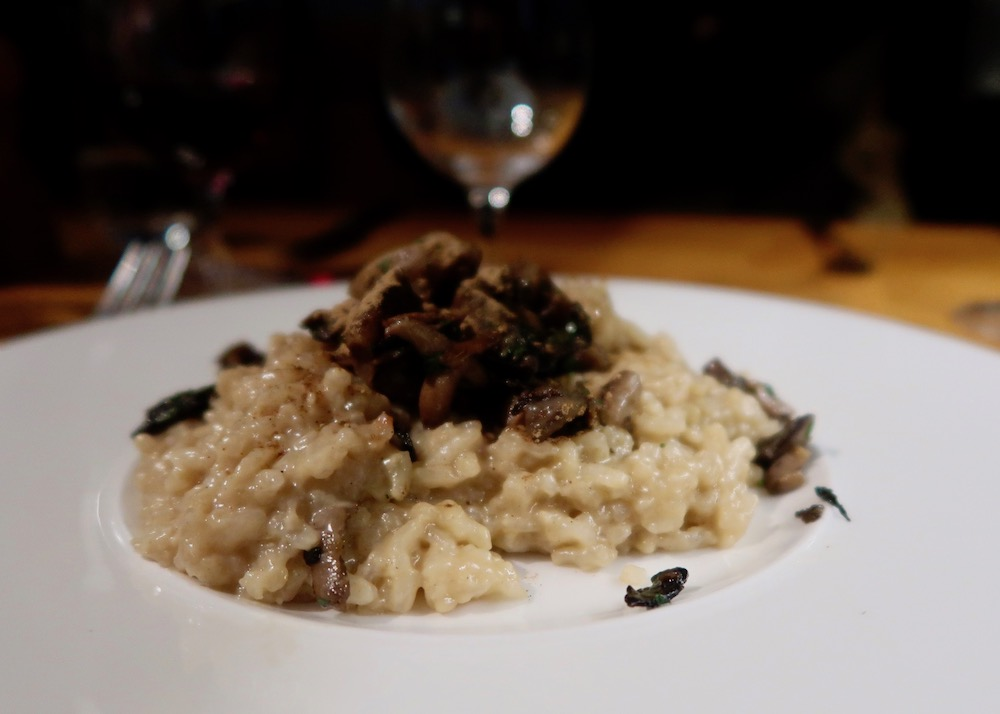 Bryn Williams mushroom risotto