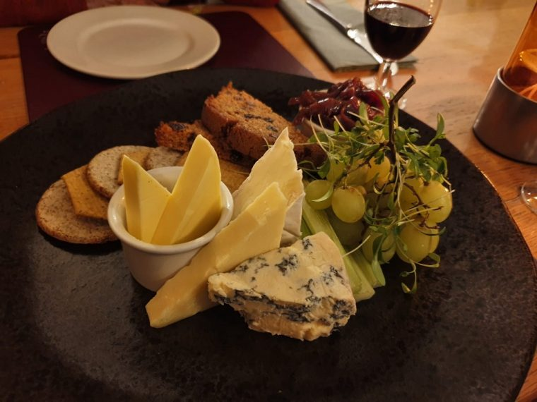 The Cheese Board at the Nags Head