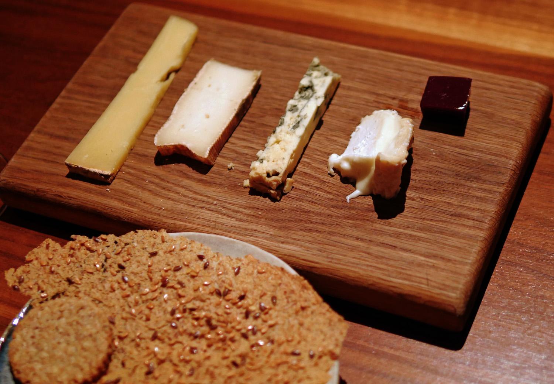 Cheese at the Clove Club
