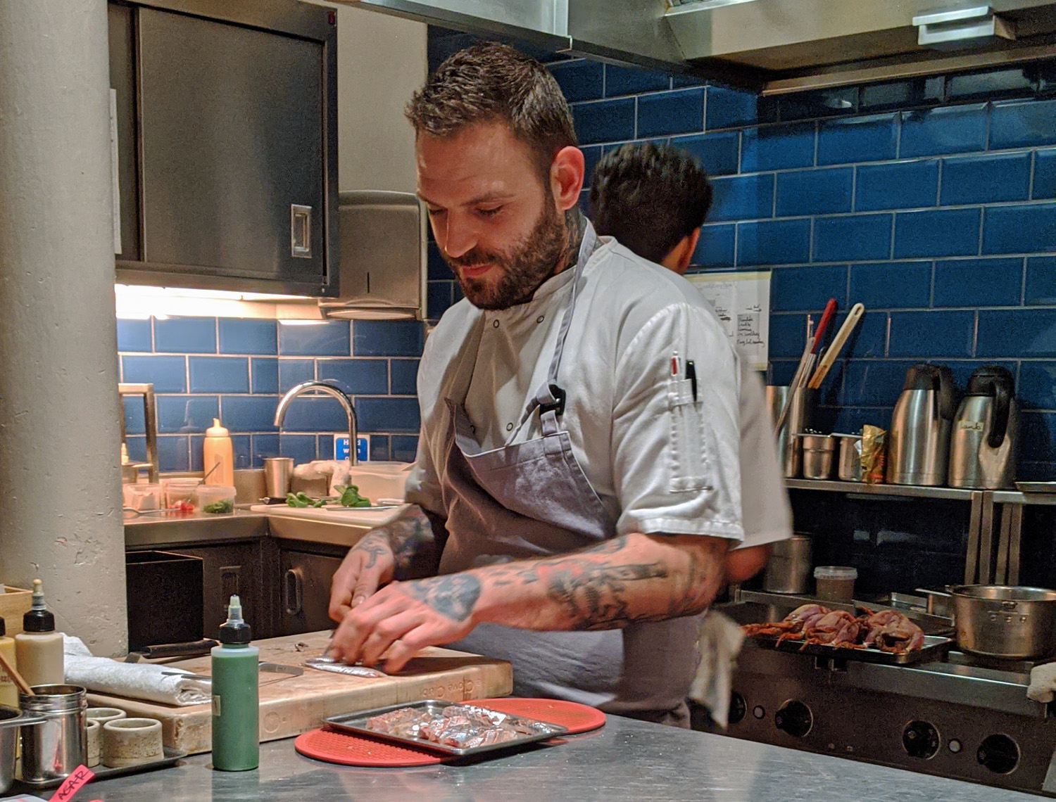 Chef at Work - the Clove Club