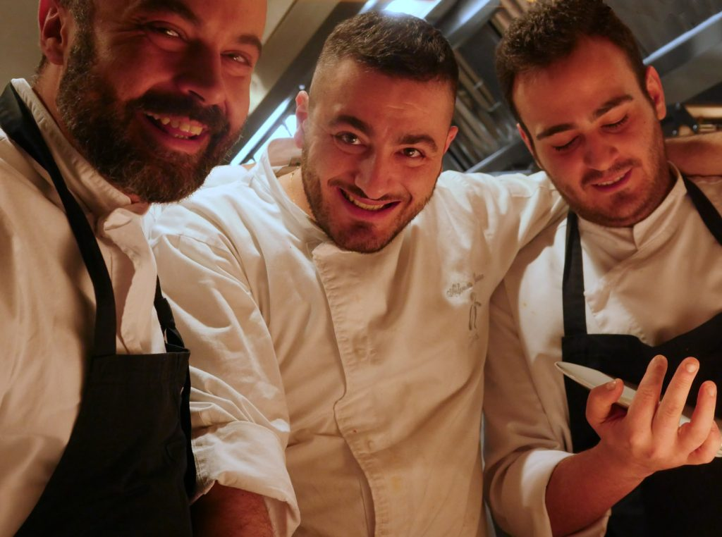 Chefs at IT London Restaurant