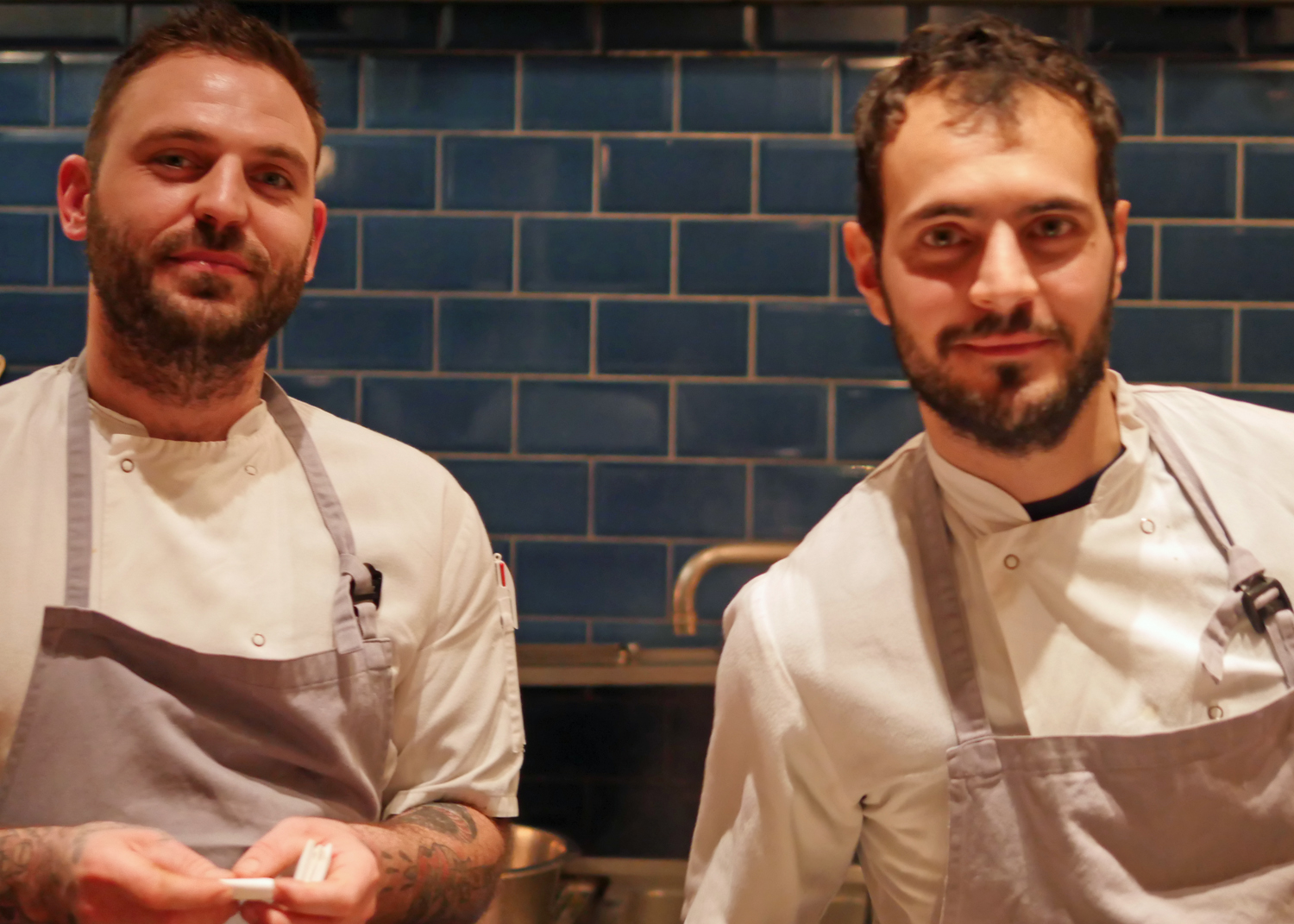Chefs at the Clove Club