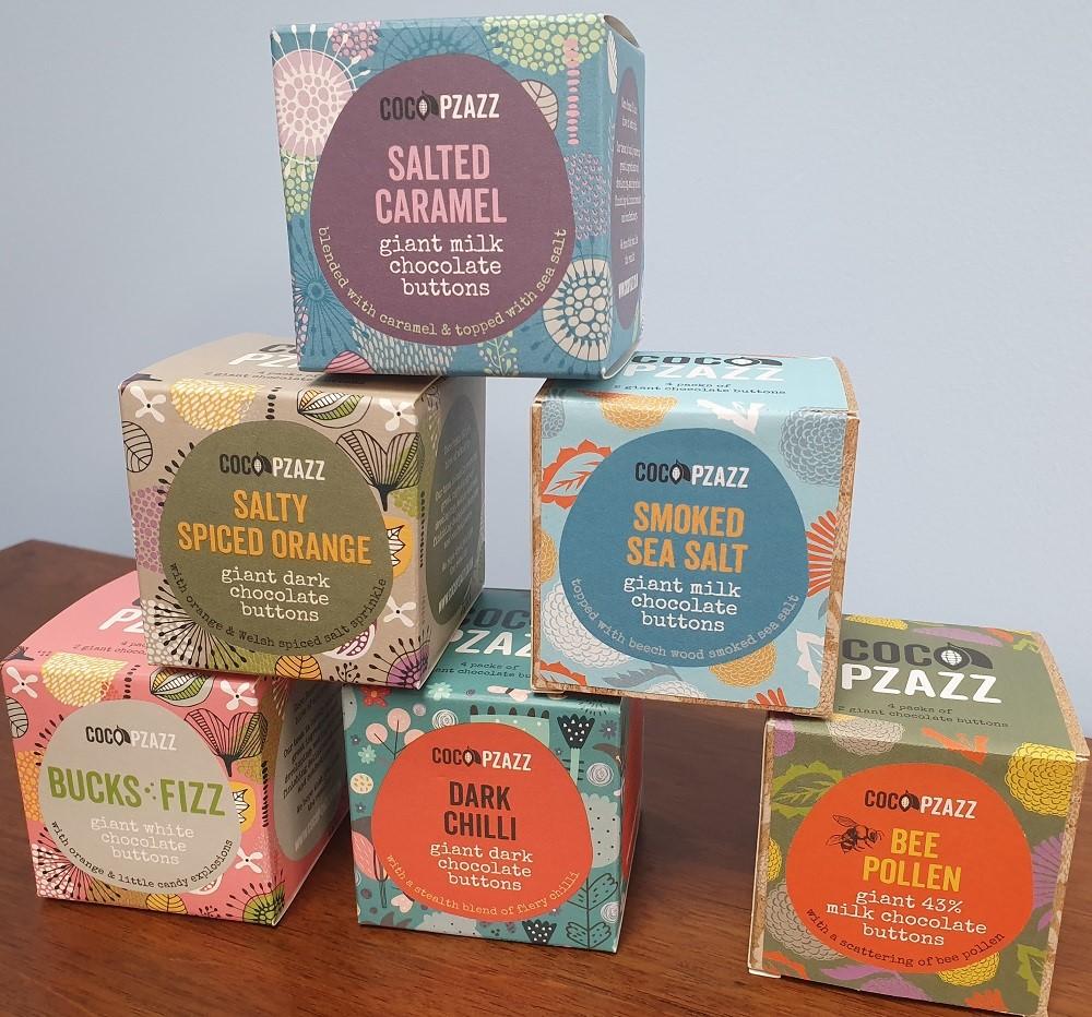 Coco Pzazz - boxes - buttons