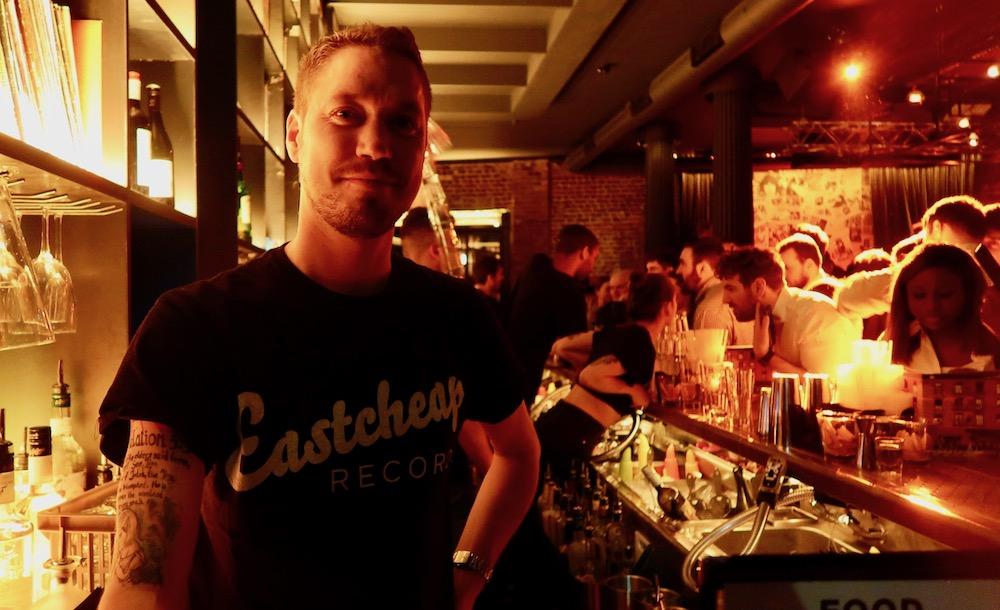 EASTCHEAP barman