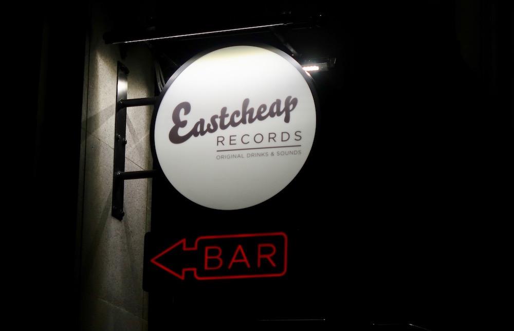 EASTCHEAP sign