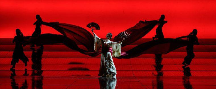 The Fan Dance - Madam Butterfly ENO 2020