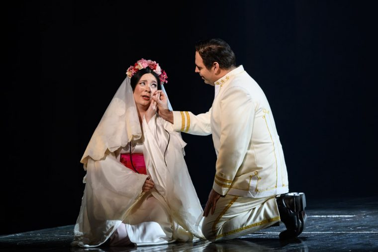 Natalya Rominiw and Dimitri Pittas in Madam Butterfly, Eno 2020