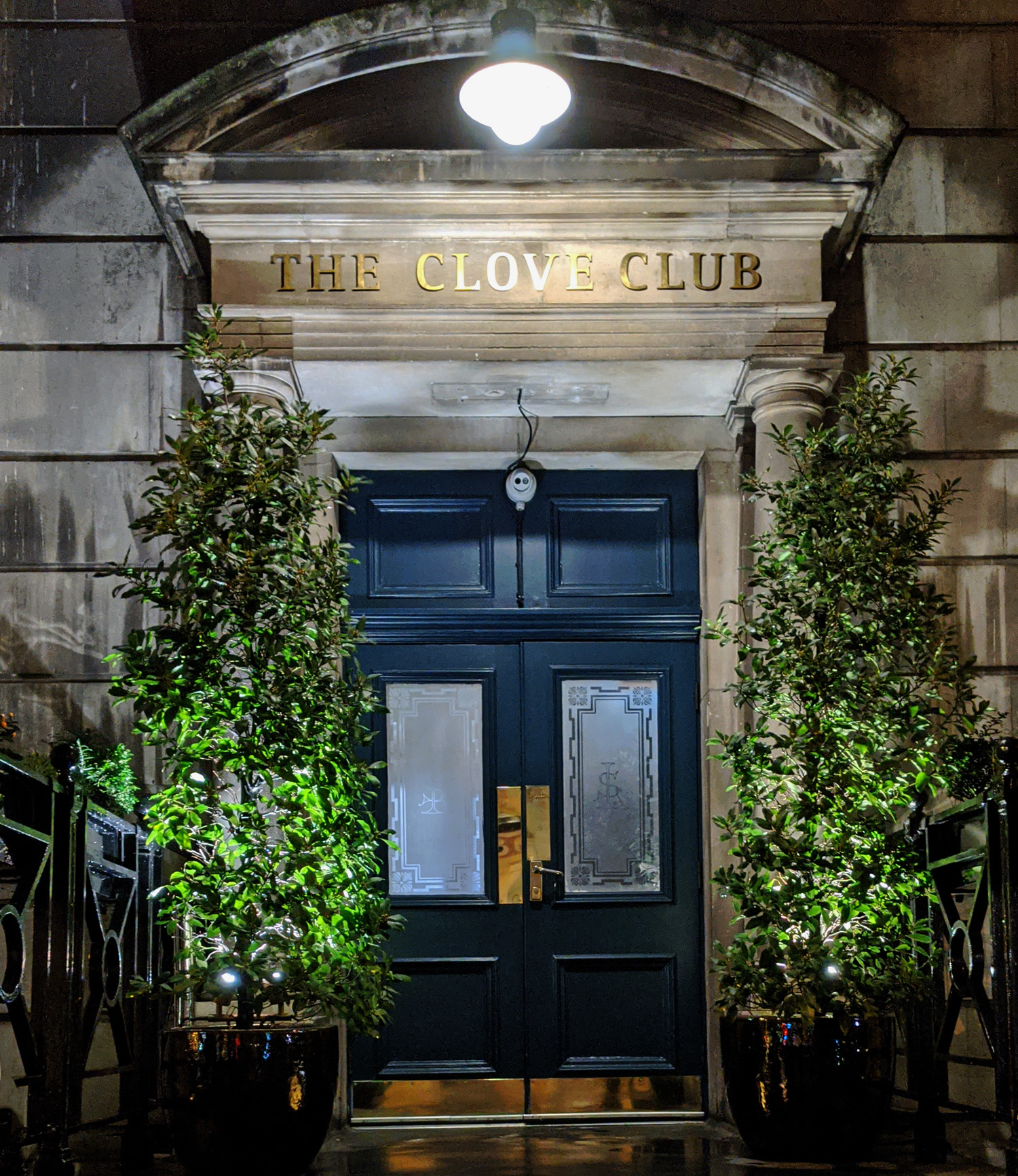Entrance to the Clove Club