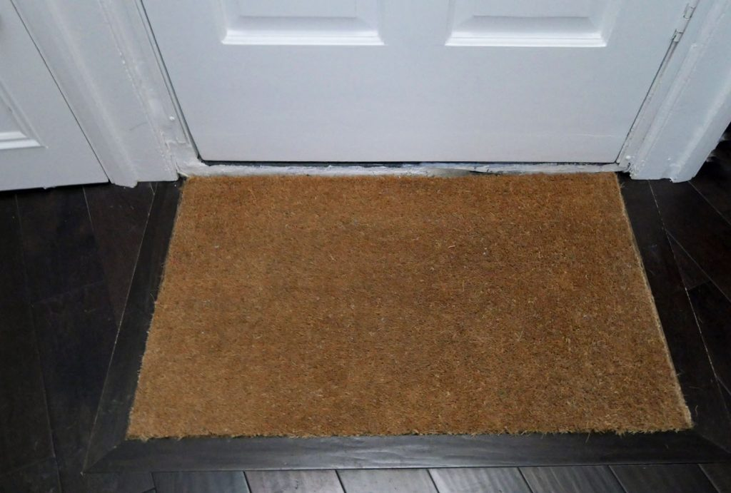 Fitted Doormat with flooring