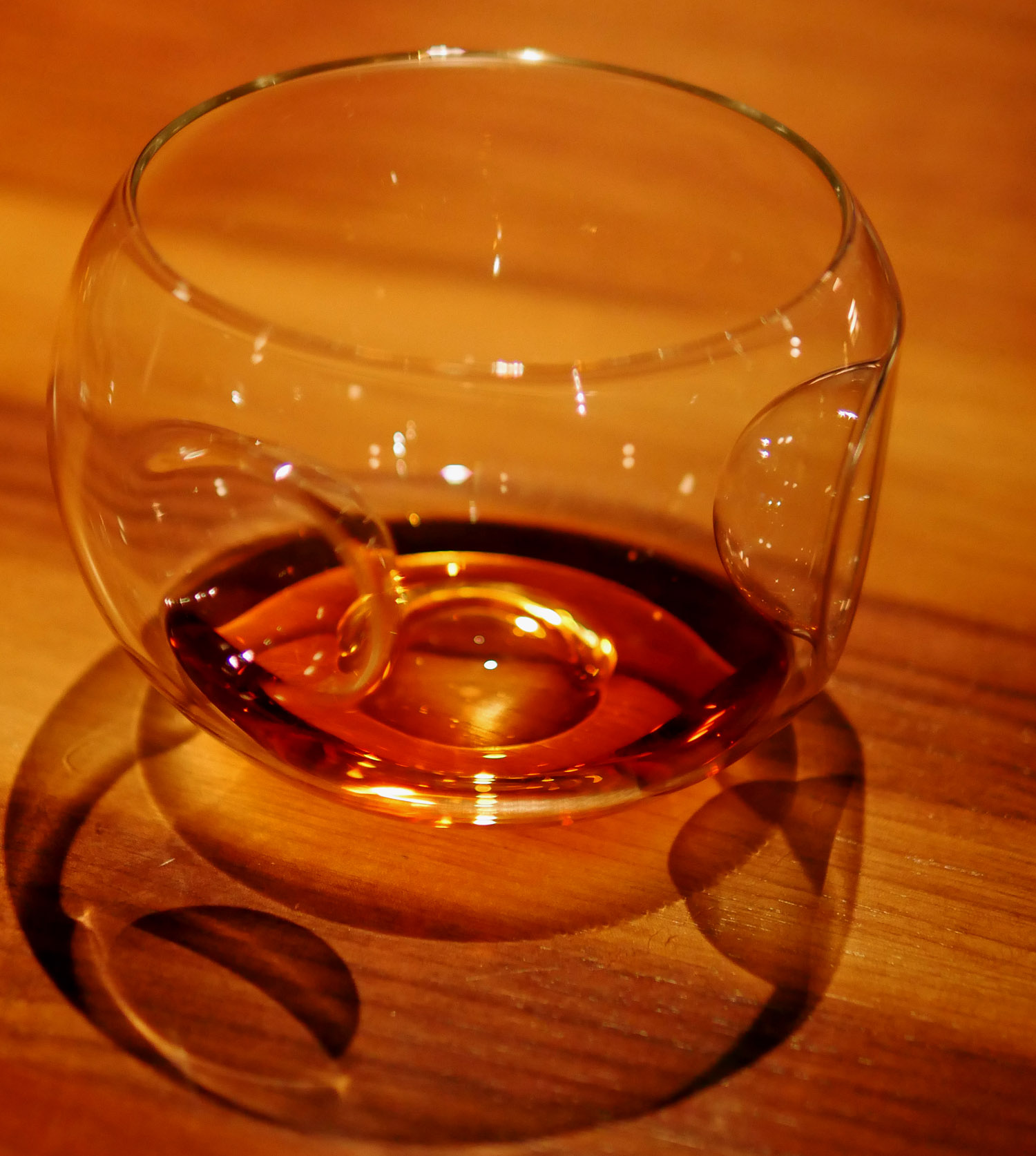 Gravner fish bowl wineglass - The Clove Club