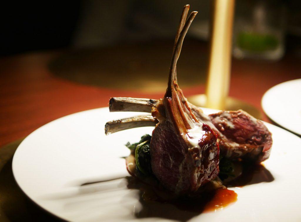 Lamb Main Course - IT Restaurant Mayfair