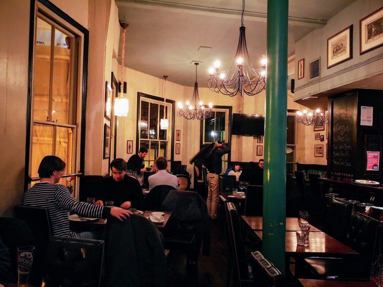 Lamb Tavern interior