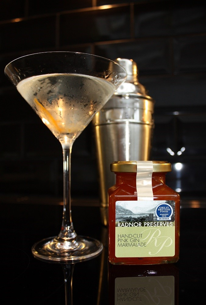 Radnor Preserves - Cocktail - Marmalade Martini.