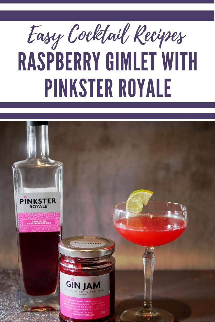 Raspberry Gin Cocktail - Raspberry Gimlet Recipe