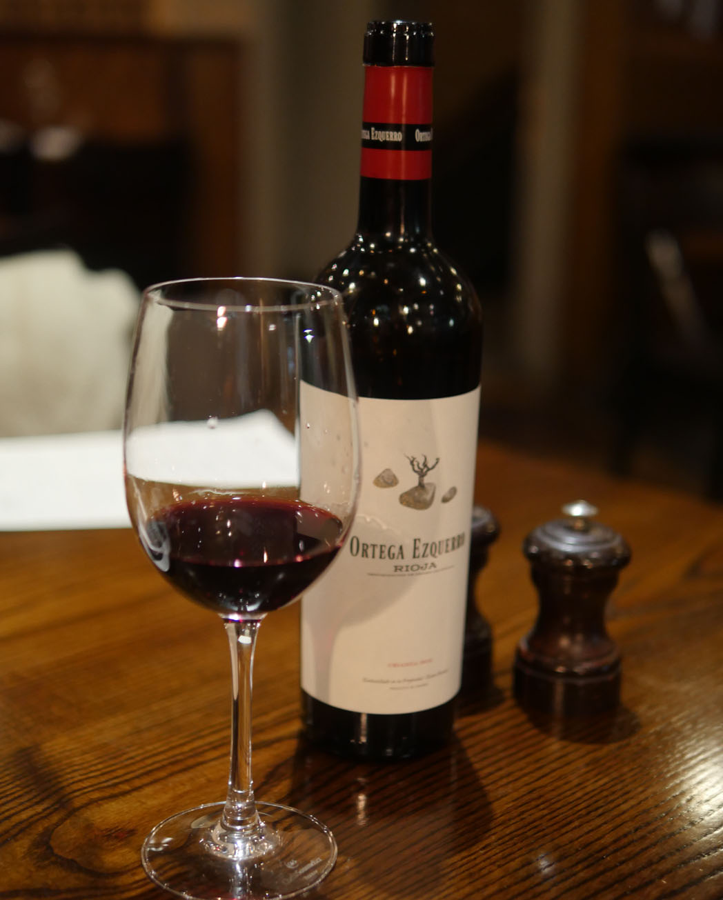 Red Wine - The White Swan Fetter Lane