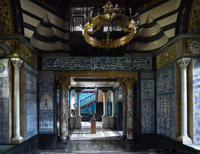 The Arab Hall at Leighton House, Holland Park