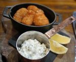 The White Swan Fetter Lane - Whitby Scampi with Tartare Sauce