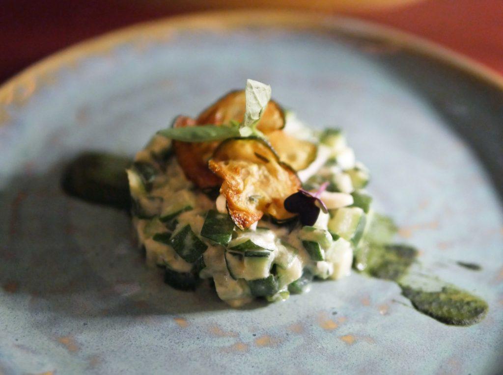 zucchini cake - IT Restaurant London