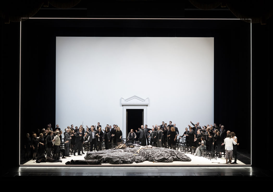 1067 Production image Fidelio (c) ROH 2020 Photographed by Bill Cooper