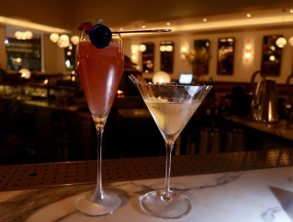 Aster cocktails