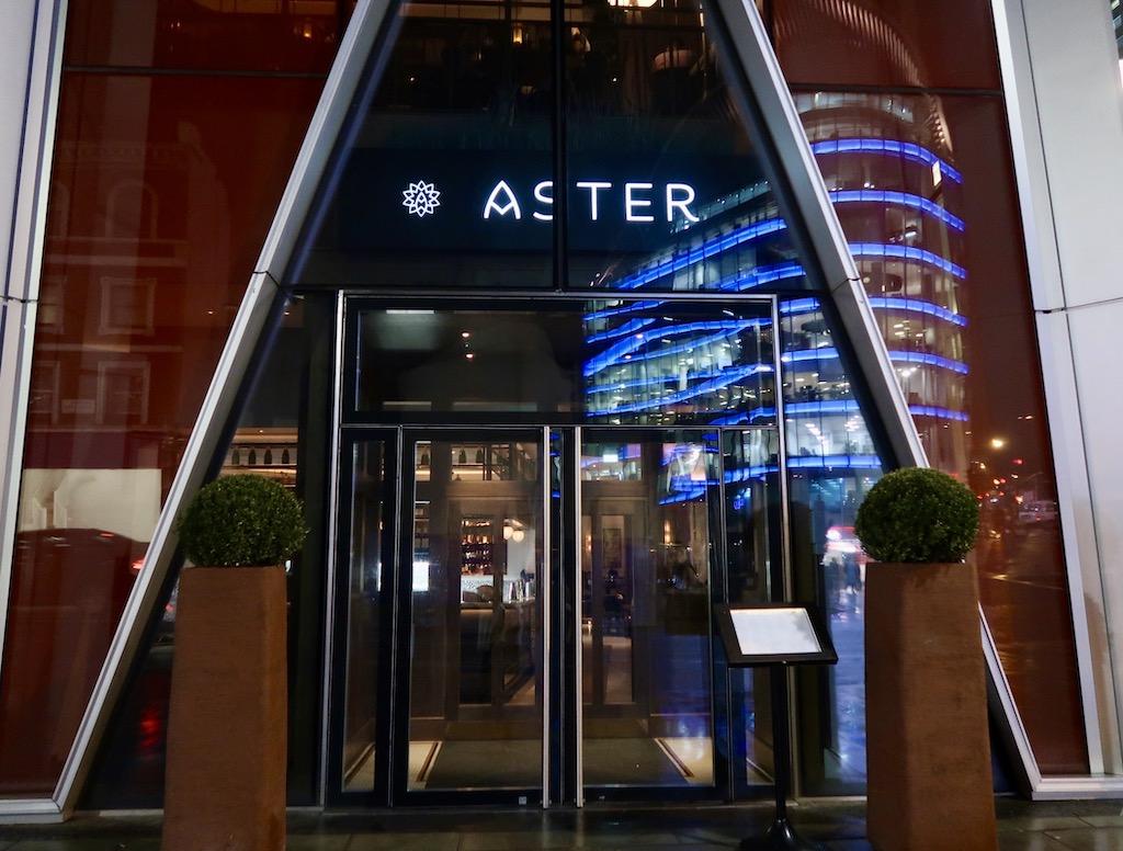 Aster exterior