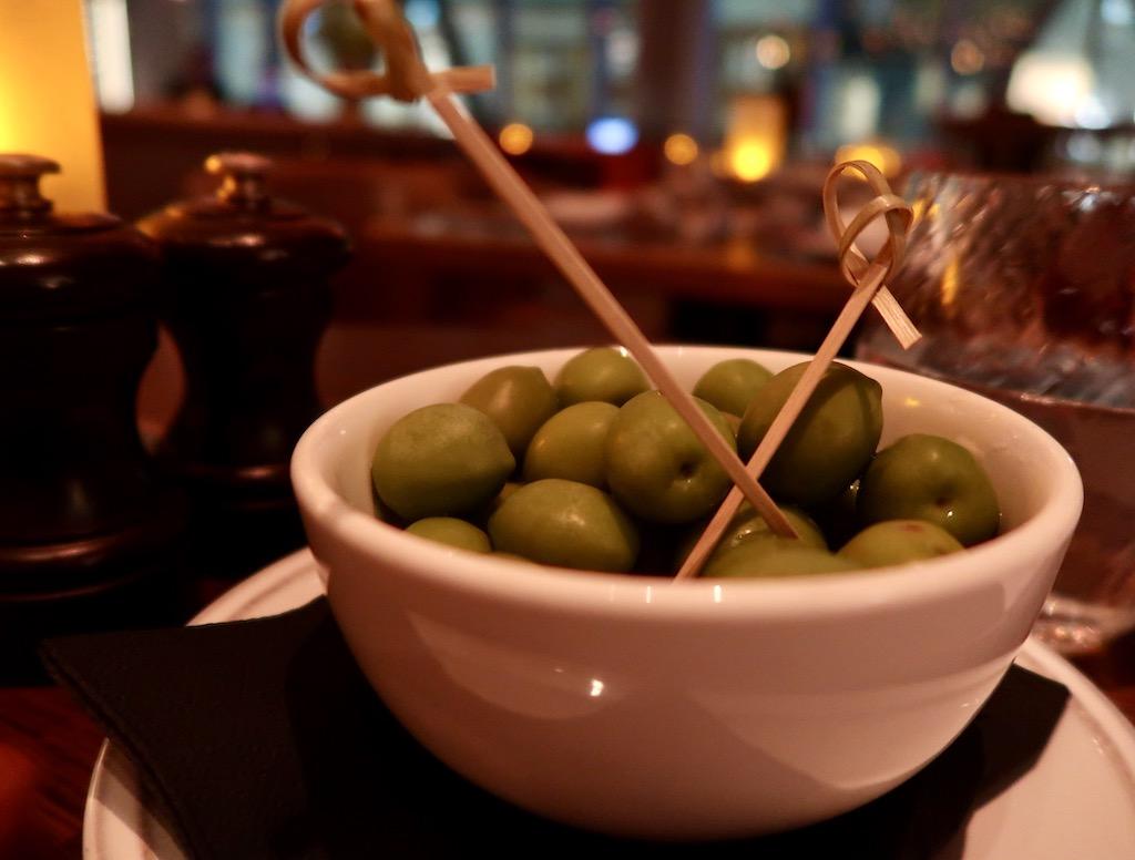 Aster restaurant olives