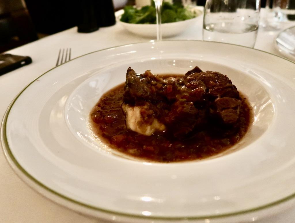 Chilean Wayu braised beef