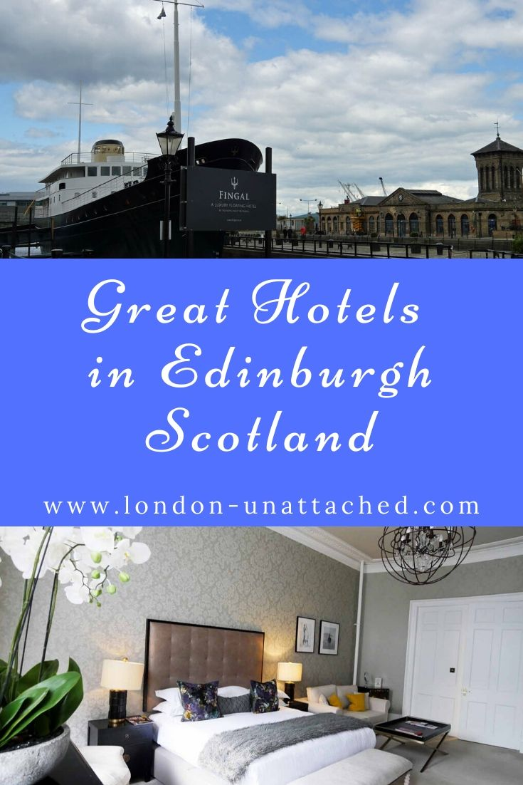 Great Hotels in Edinburgh Scotland. Boutique Hotels in Edinburgh Old Town, Leith, Edinburgh New Town and Stockbridge and Canonmills