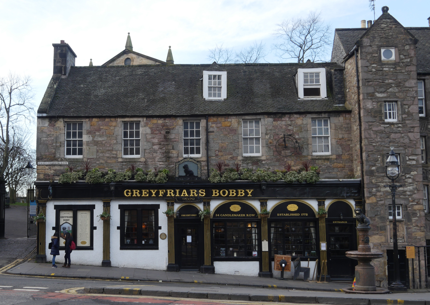 Edinburgh Old Town Greyfriar's Bobby