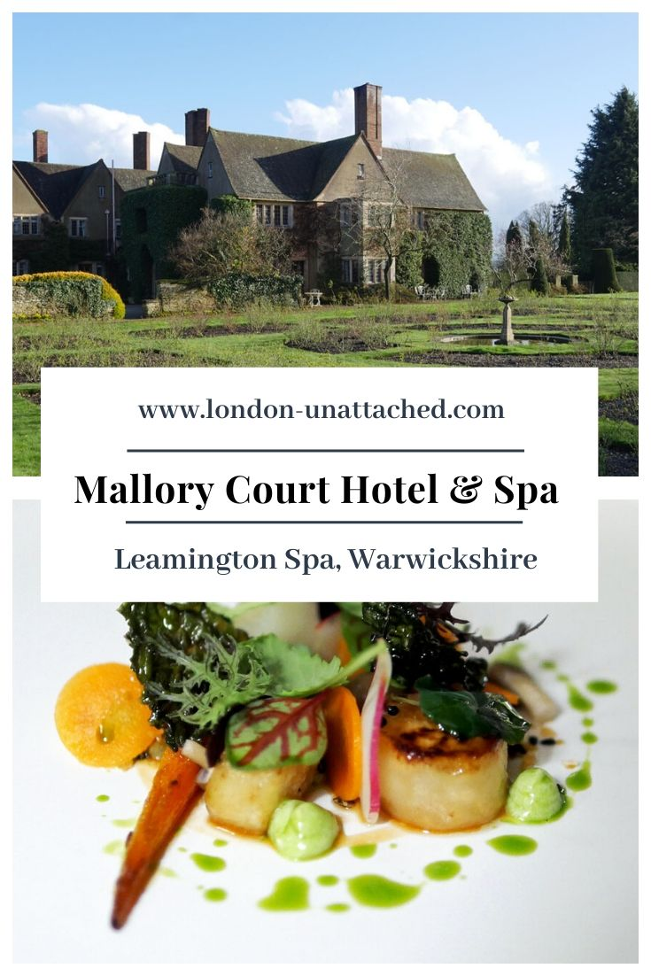Mallory Court Hotel and Spa is a stunning country house hotel with fine dining and classy spa facilities. An excellent place for a country break in England and close enough to Stratford to catch some Shakespeare #LeamingtonSpa #SpaHotel #BoutiqueHotel #England