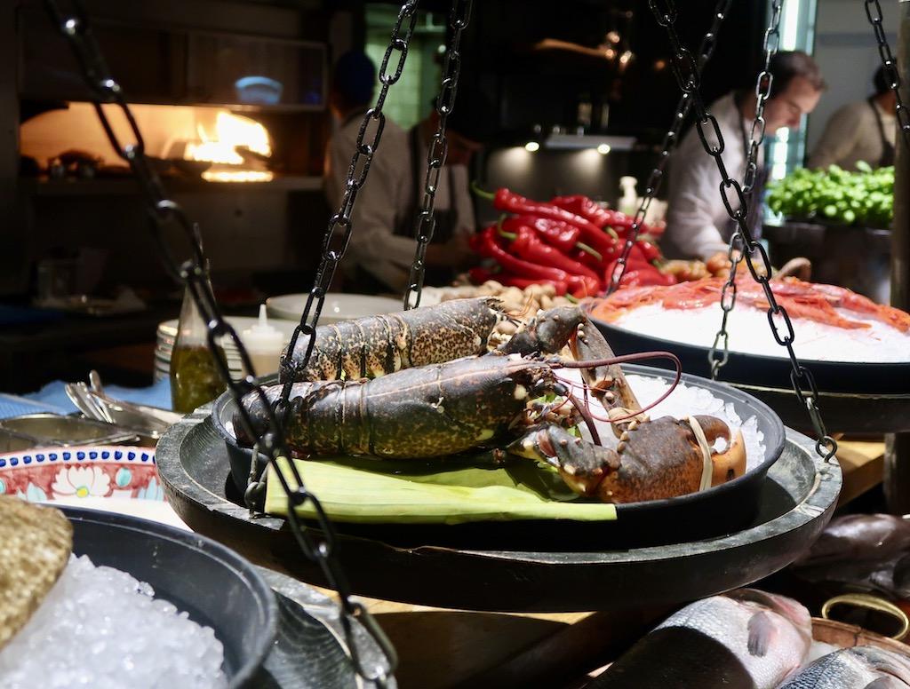 Novikov Italian - lobster