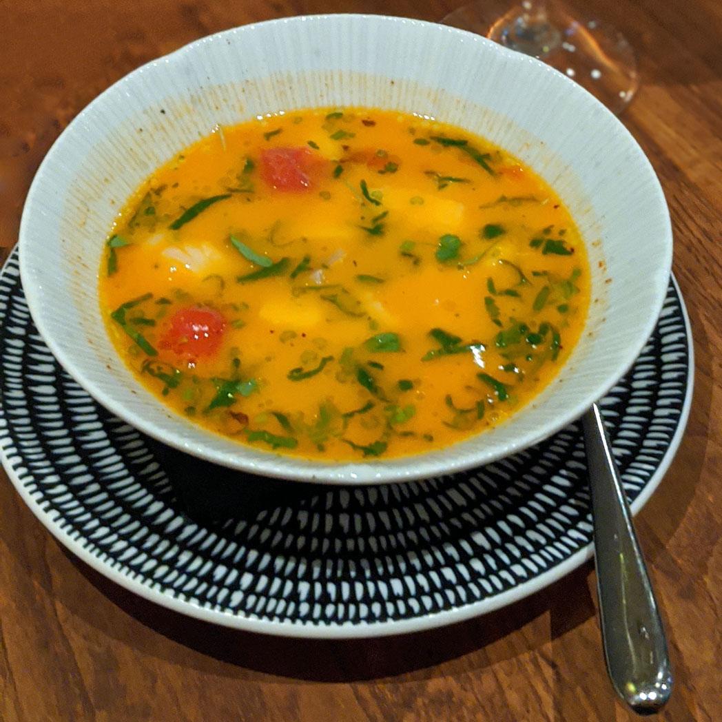 Portuguese Fish soup Volta do Mar