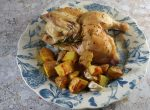 Roast chicken tray bake