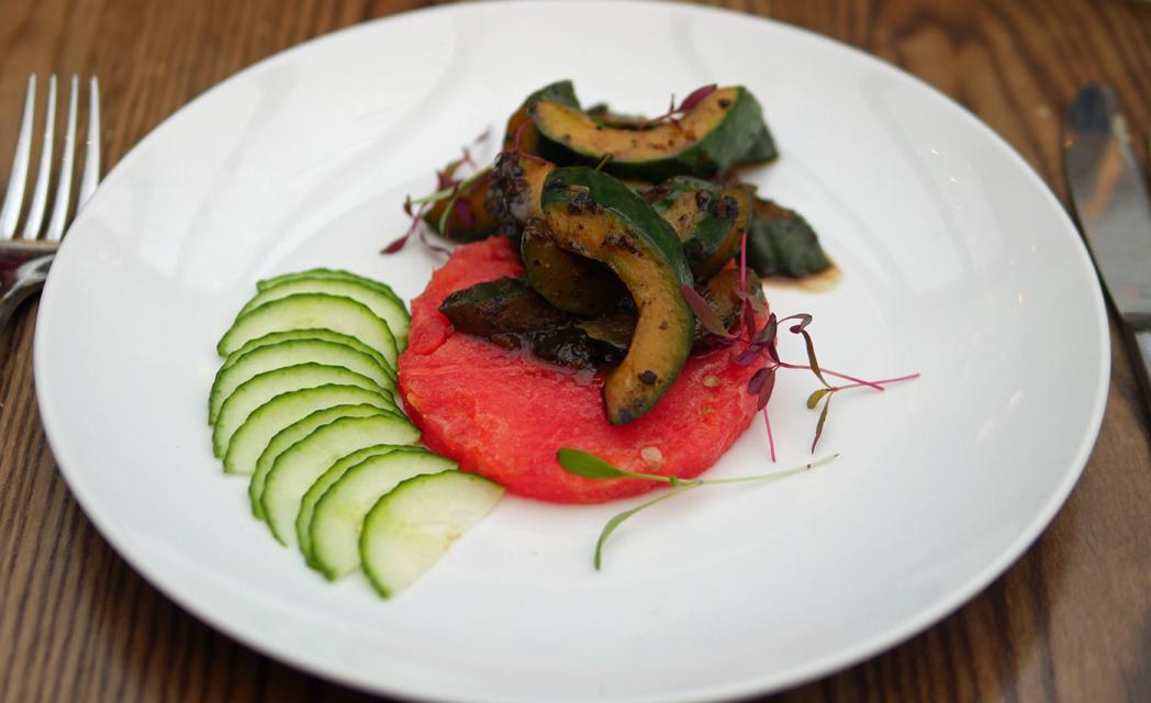 Stir Fried Cucumber and Watermelon