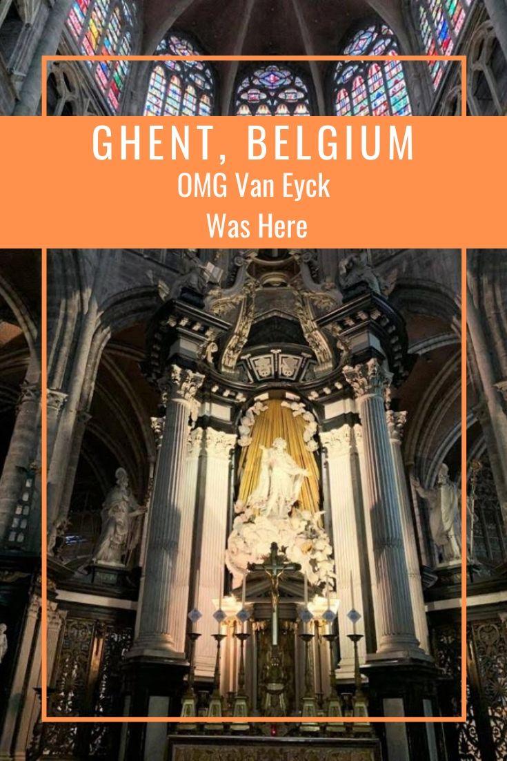 Van Eyck Ghent - OMG Van Eyck was here #VanEyck #Flanders #Belgium #Ghent #Art