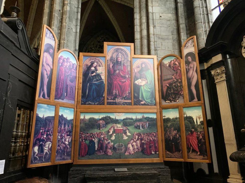 Van Eyck altarpiece, Ghent