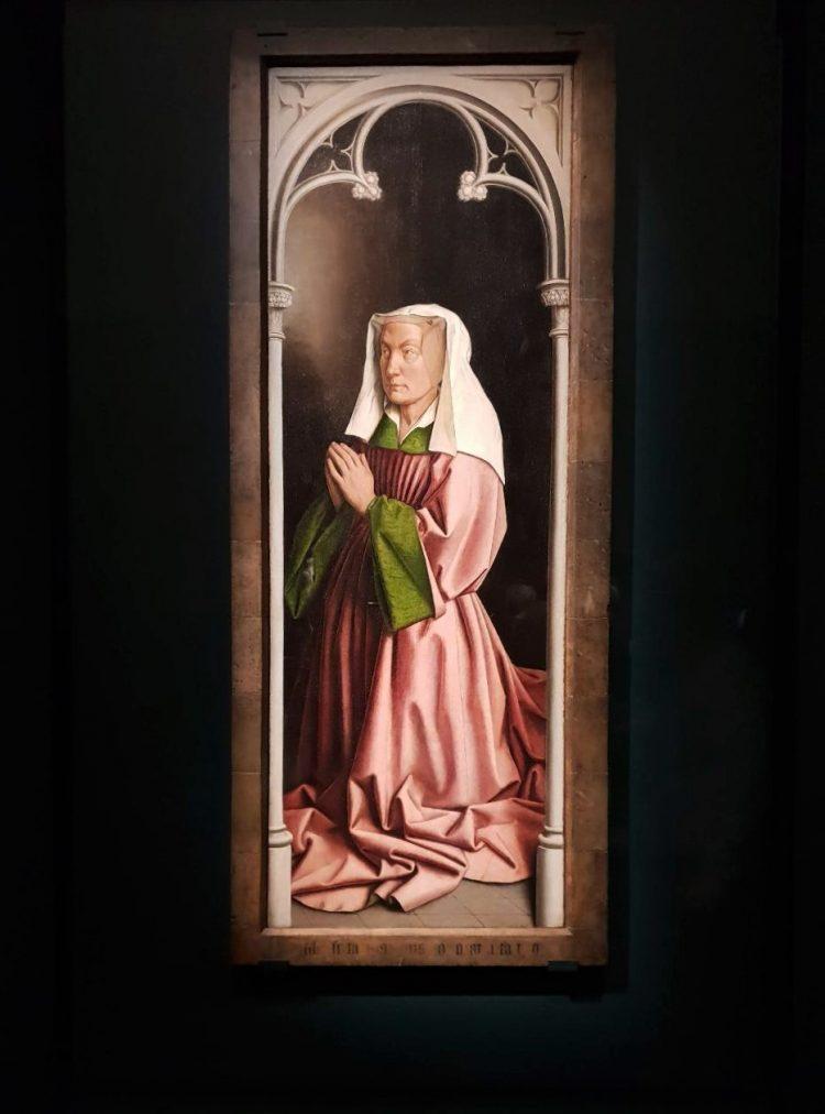 Van Eyck, altarpiece panel2, Ghent