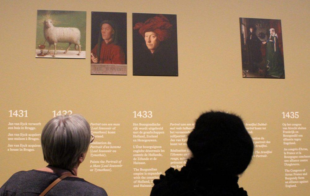 Van Eyck exhibition, Ghent