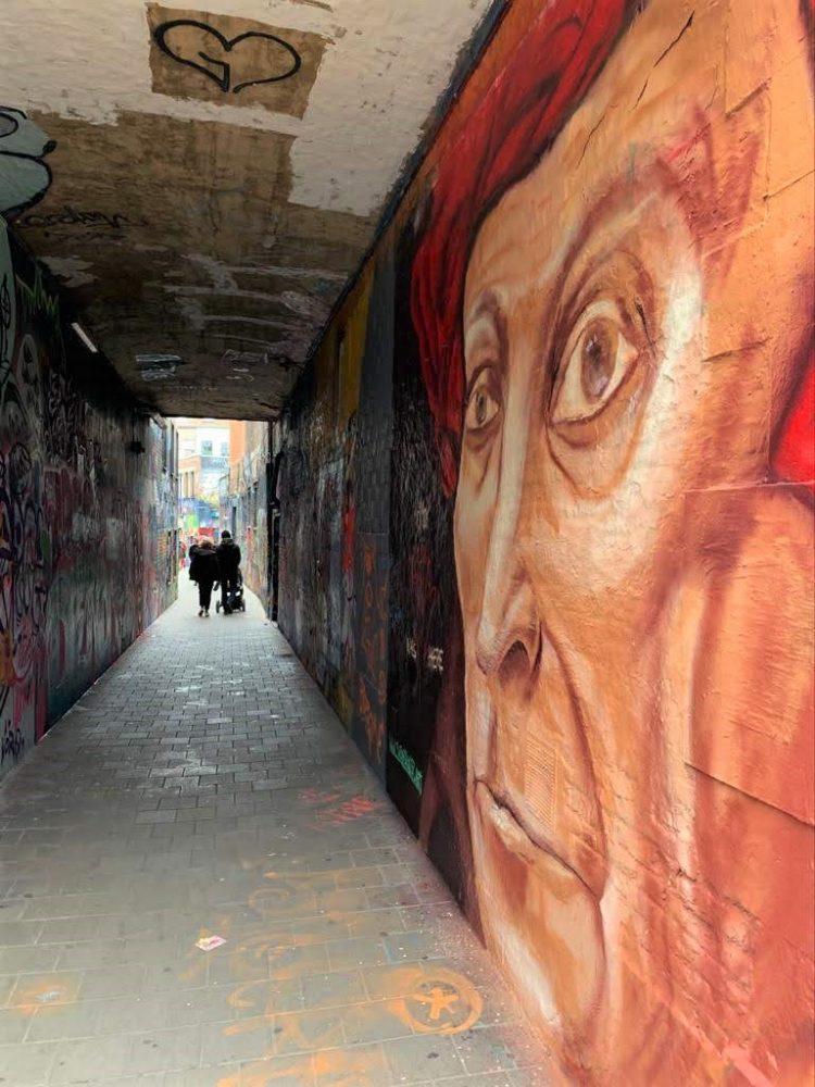 Van Eyck street art, Ghent