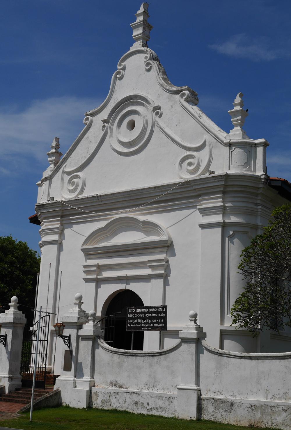 2020 Dutch Reform Church Galle Sri Lanka
