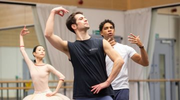 Birmingham Royal Ballet Rehearsing